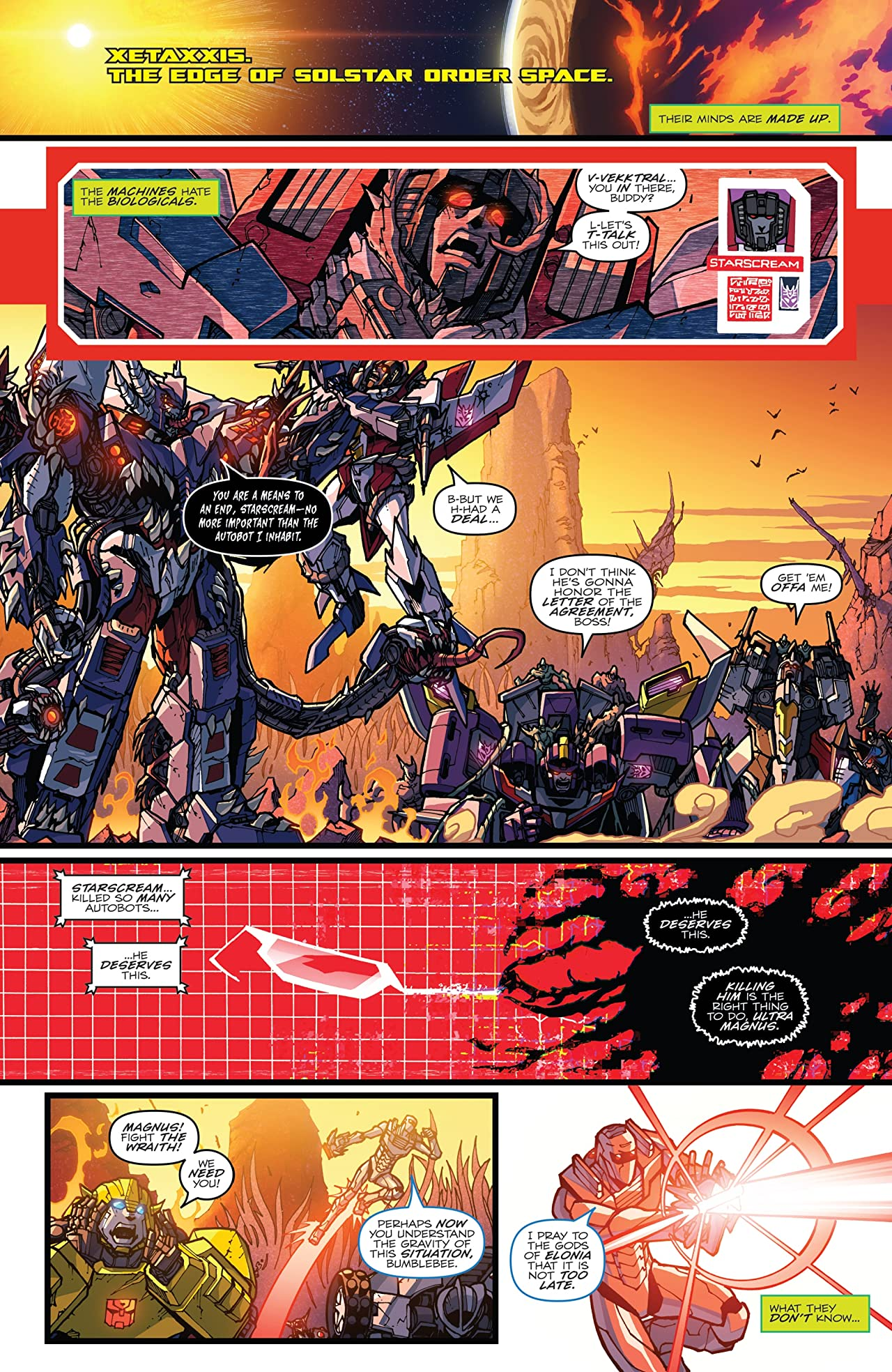 Rom vs. Transformers: Shining Armor #5
