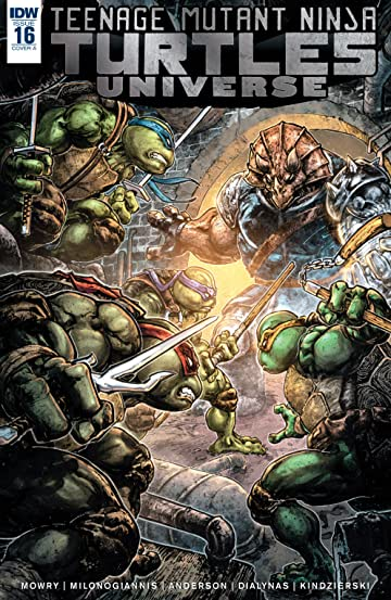 Teenage Mutant Ninja Turtles Universe No.16
