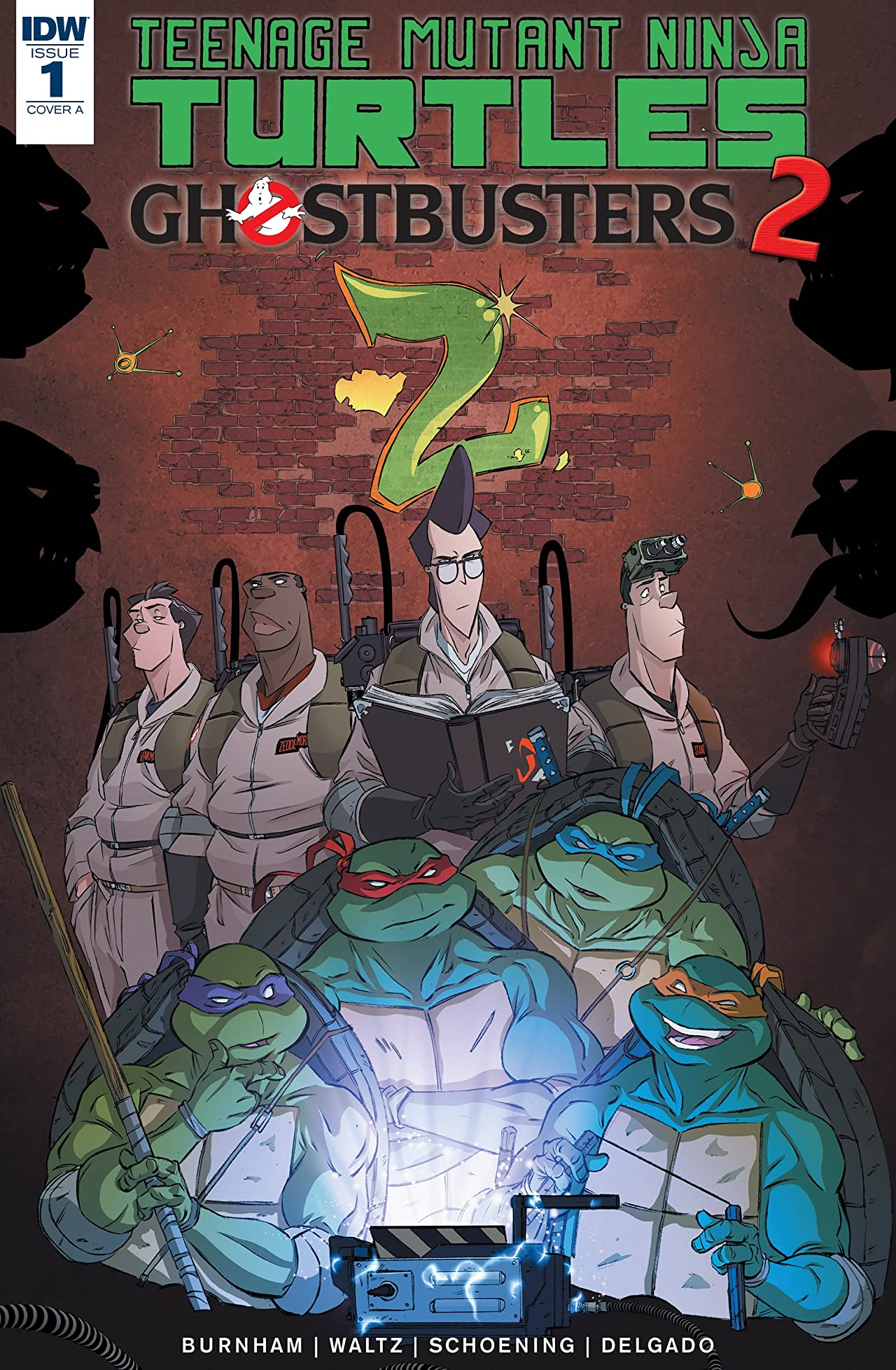 Teenage Mutant Ninja Turtles/Ghostbusters II #1 (of 5)