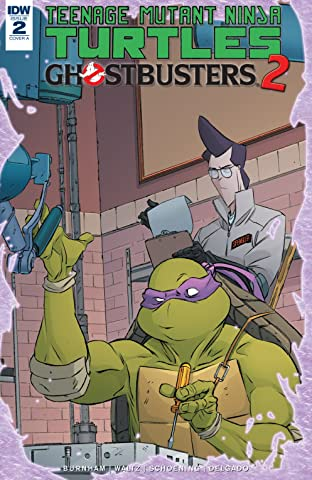 Teenage Mutant Ninja Turtles/Ghostbusters II #2 (of 5)