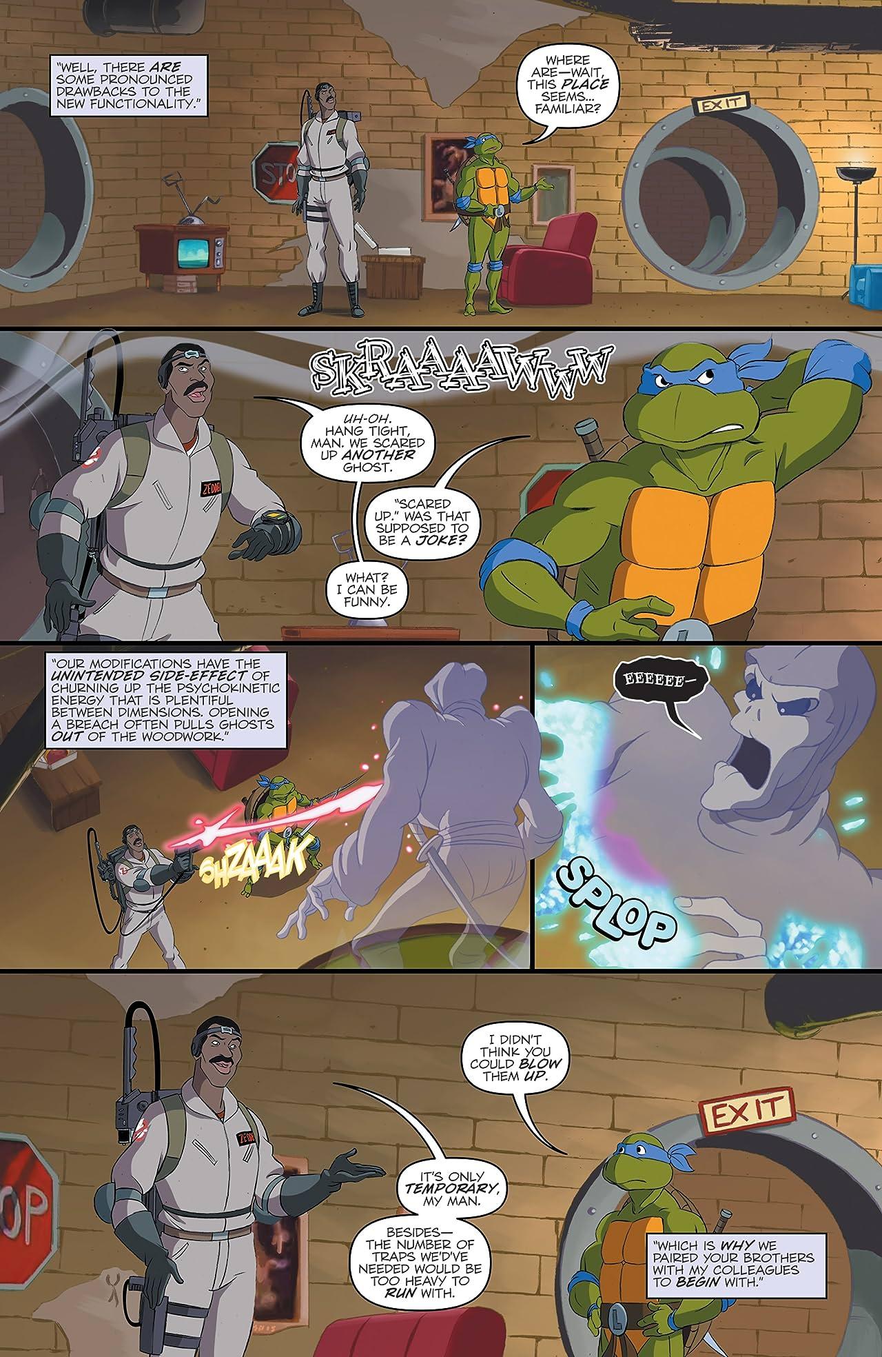 Teenage Mutant Ninja Turtles/Ghostbusters II #2 (of 5)