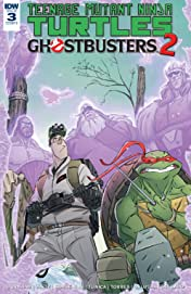 Teenage Mutant Ninja Turtles/Ghostbusters II #3 (of 5)