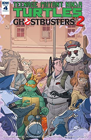 Teenage Mutant Ninja Turtles/Ghostbusters II No.4 (sur 5)