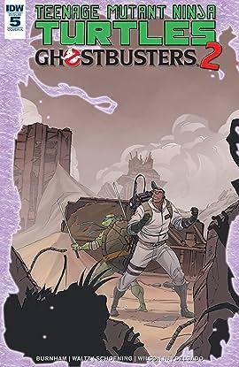 Teenage Mutant Ninja Turtles/Ghostbusters II #5 (of 5)