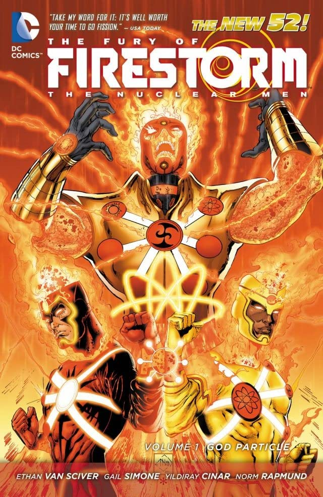 The Fury of Firestorm: The Nuclear Men (2011-2013) Vol. 1: God Particle