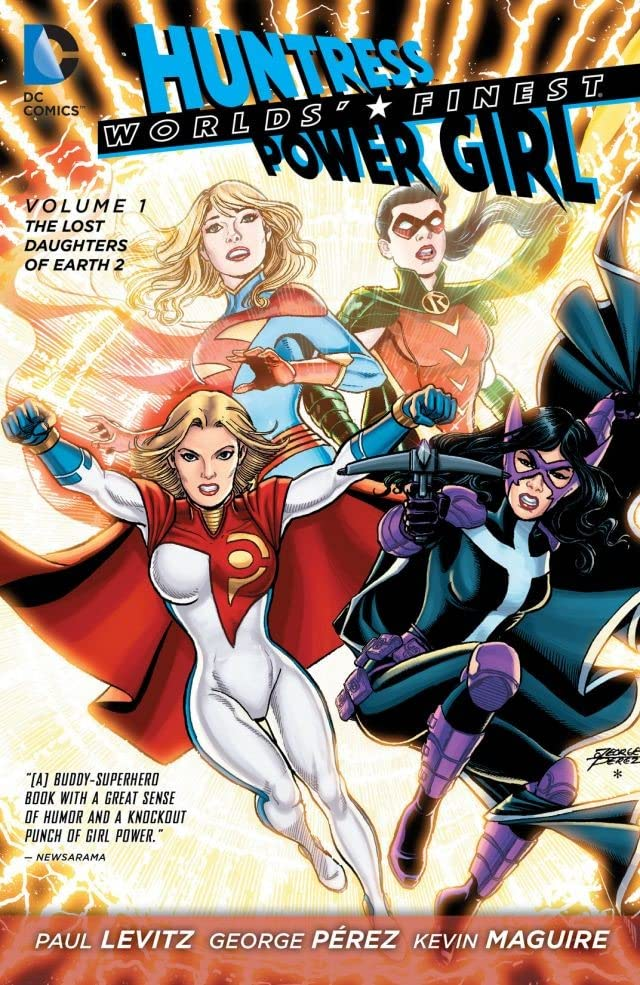 Worlds' Finest (2012-2015) Vol. 1: The Lost Daughters of Earth 2