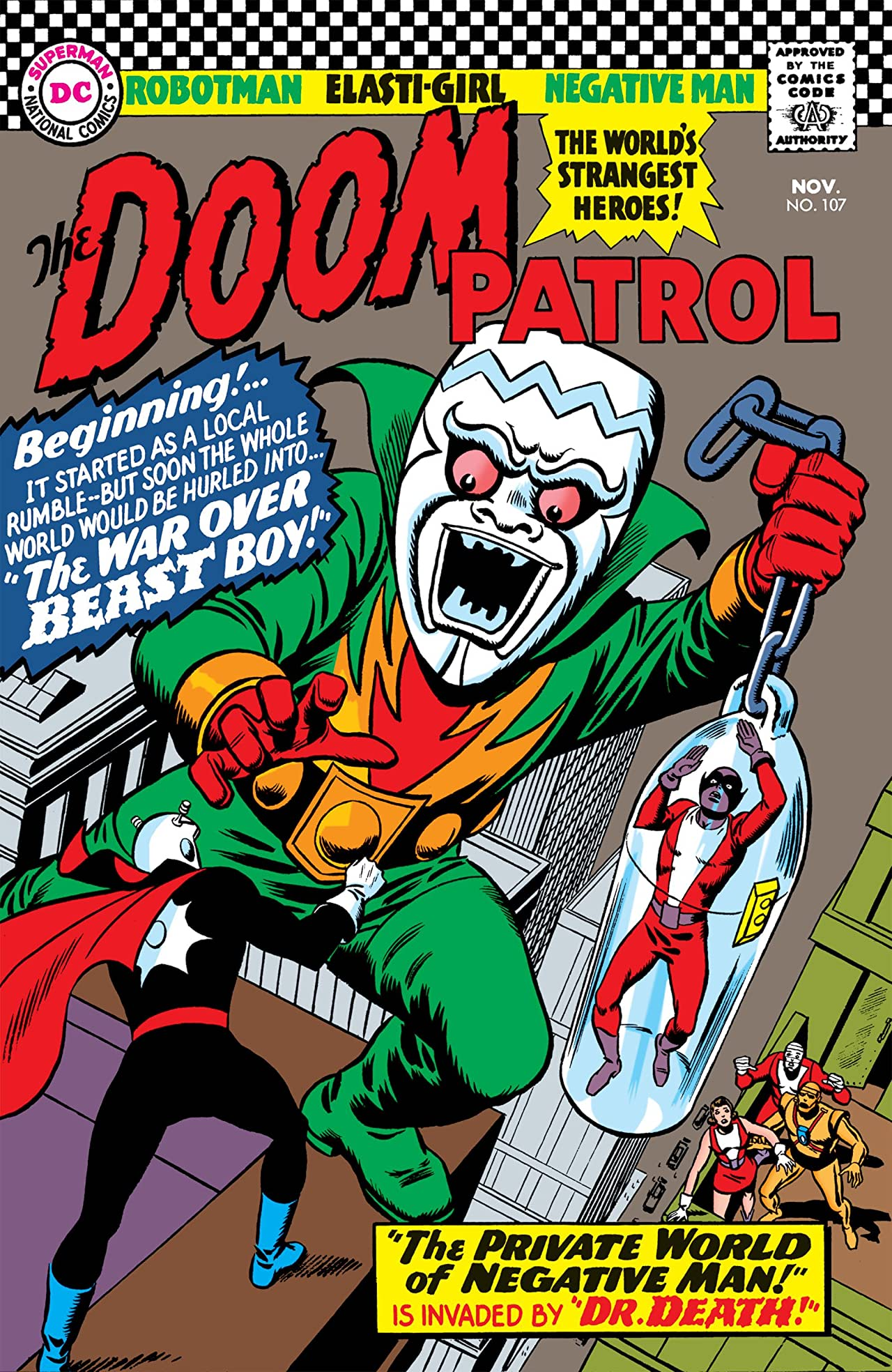 Doom Patrol (1964-1968) No.107
