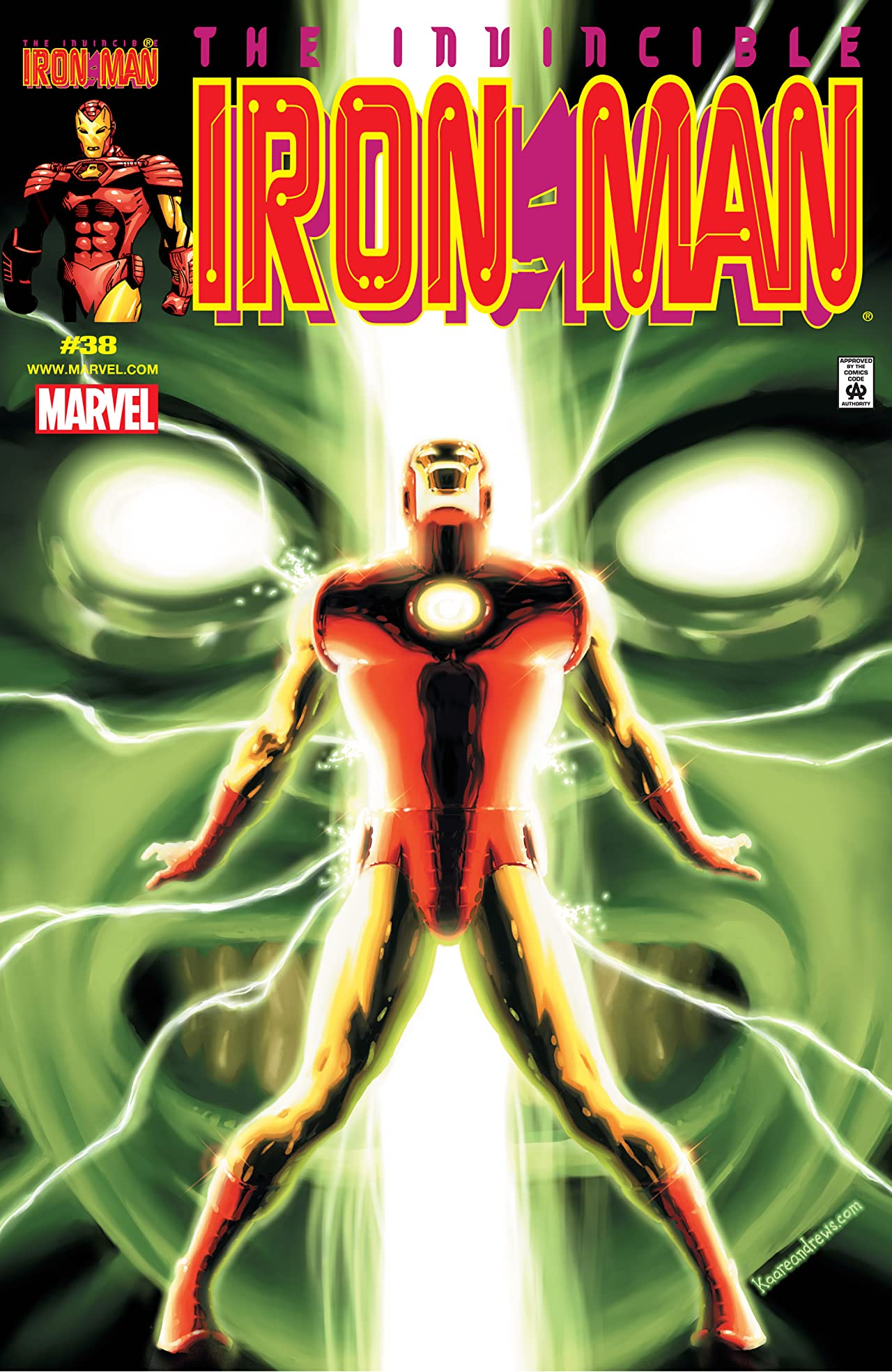 Iron Man (1998-2004) #38