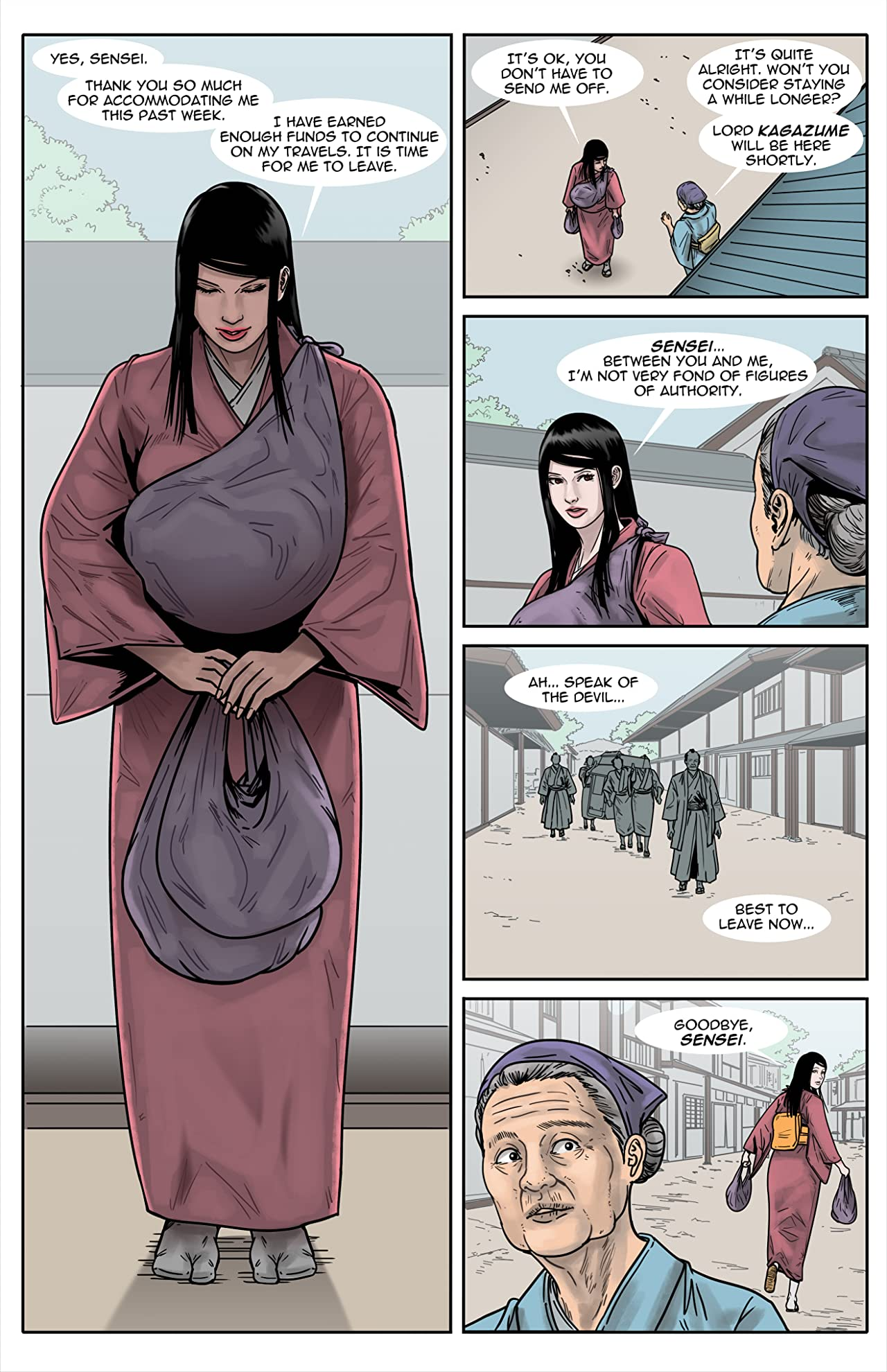 Kitsune: Assassin For Hire #9