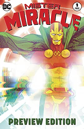 Mister Miracle #1 Extended Preview (2017-)