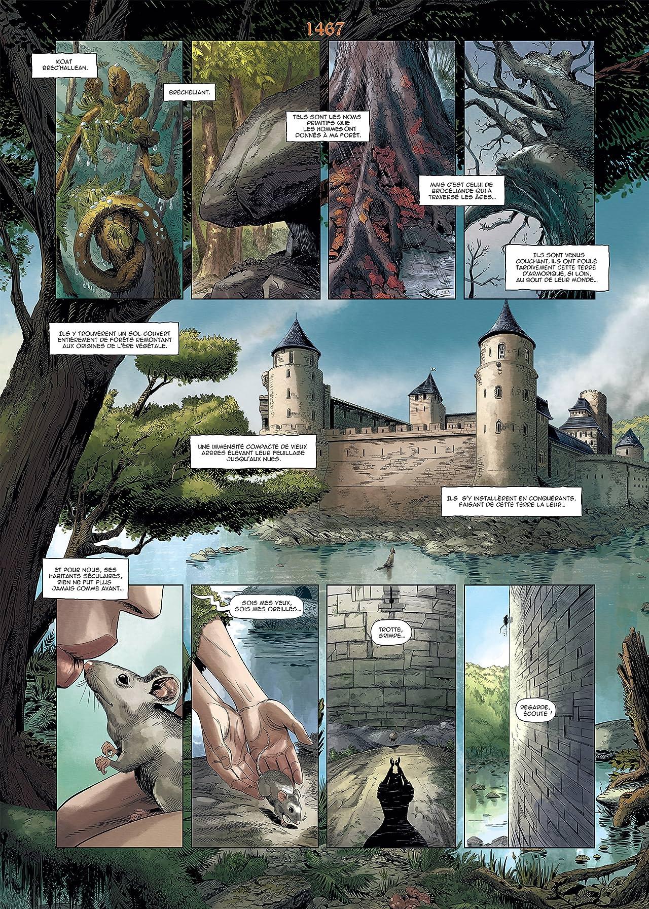 Brocéliande Vol. 2: Le Château de Comper