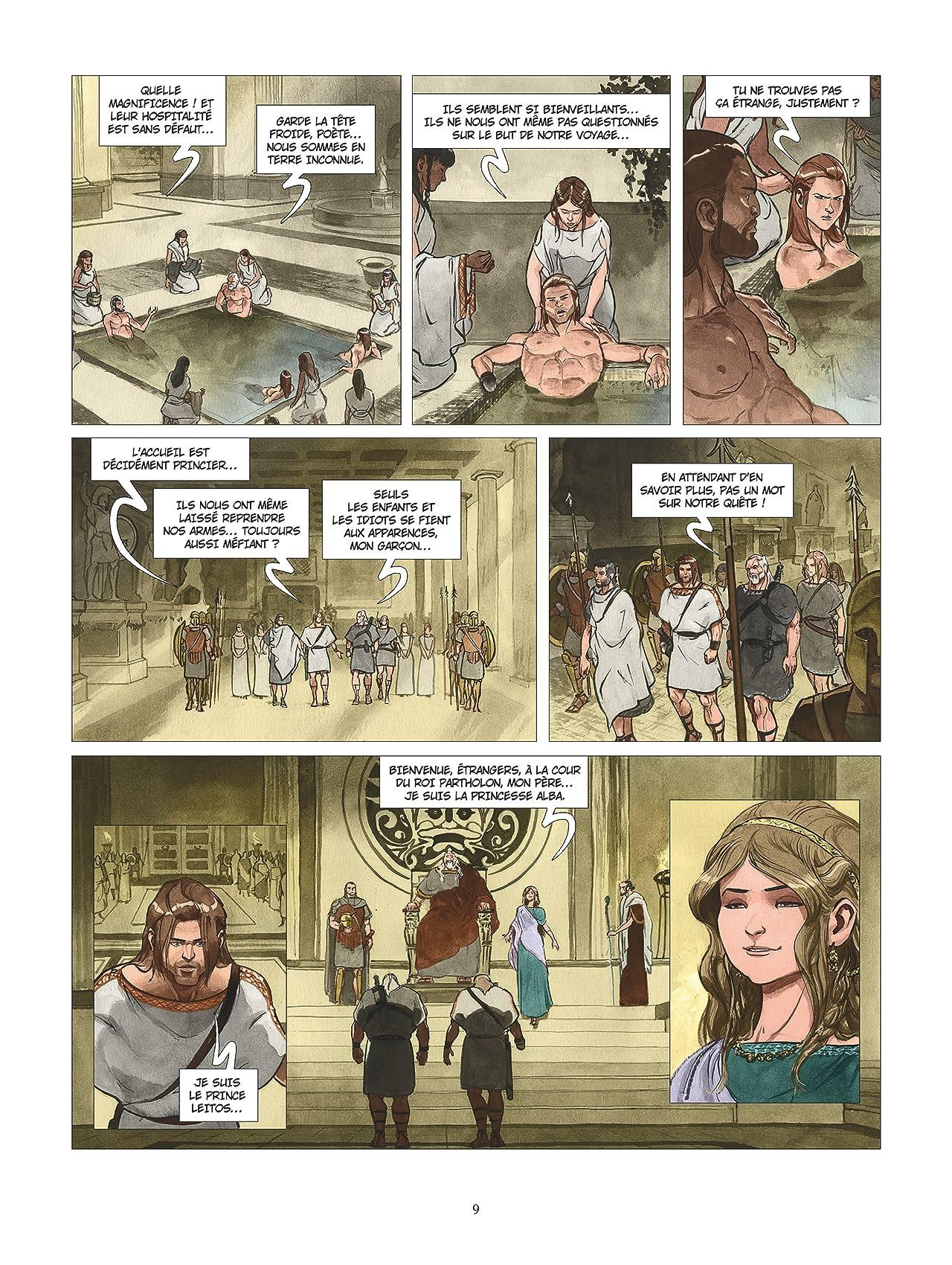 Les Derniers Argonautes Vol. 3: L'Orbe du monde