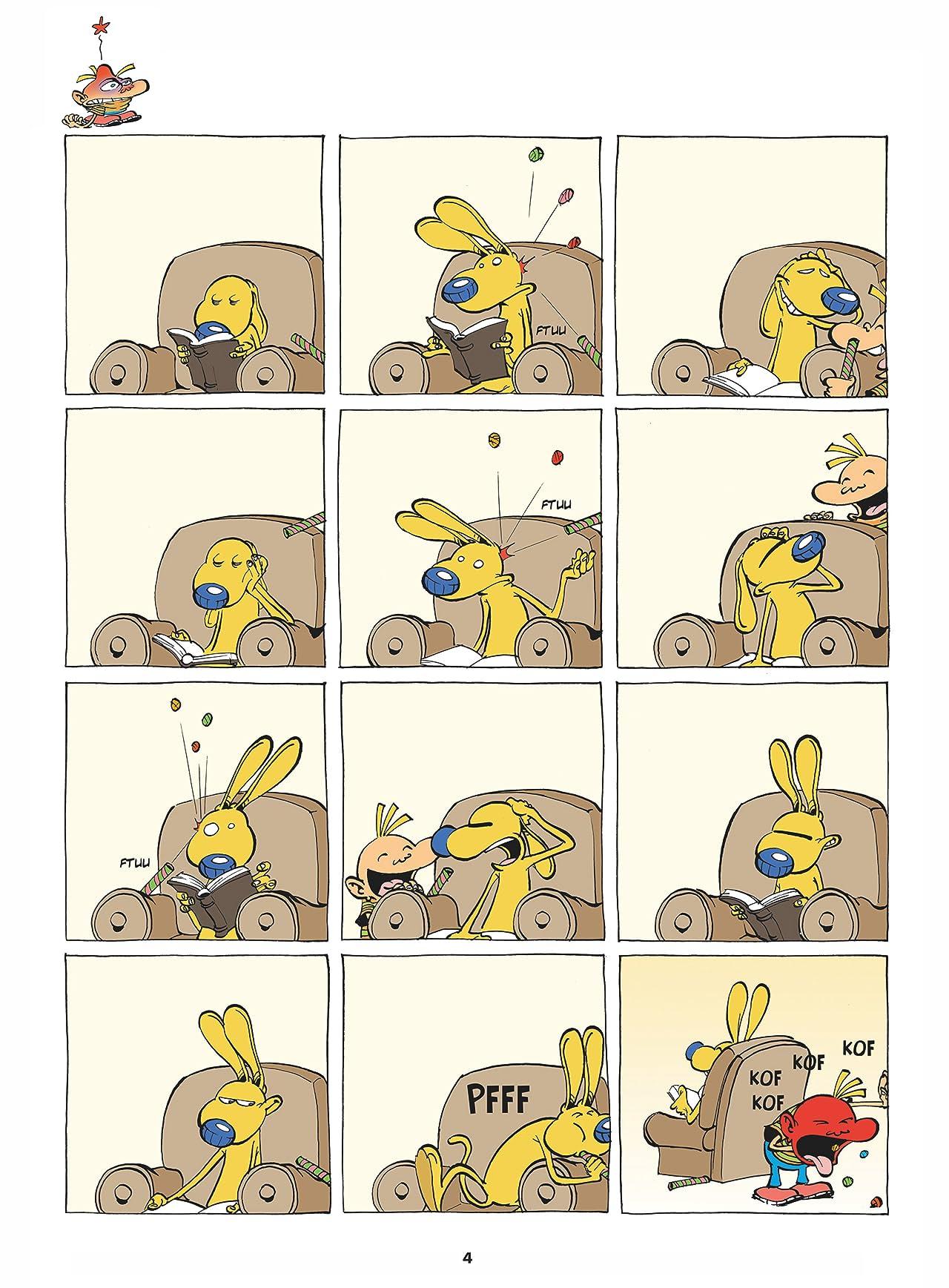 Tony et Alberto Vol. 4: Super blaireau