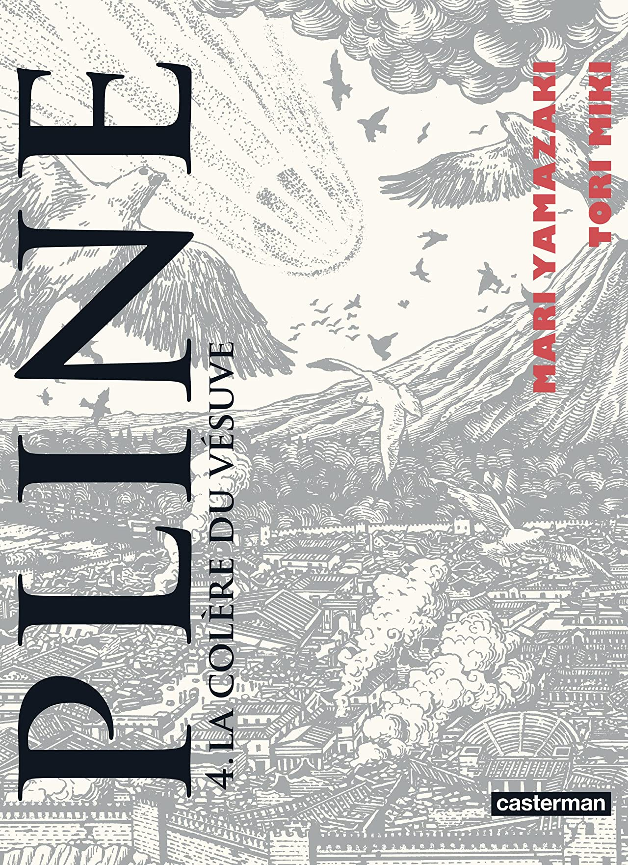 Pline Vol. 4: La colère du Vésuve