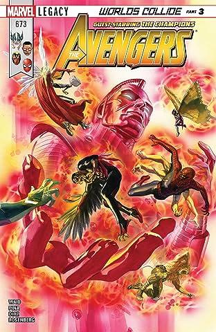 Avengers (2016-2018) No.673