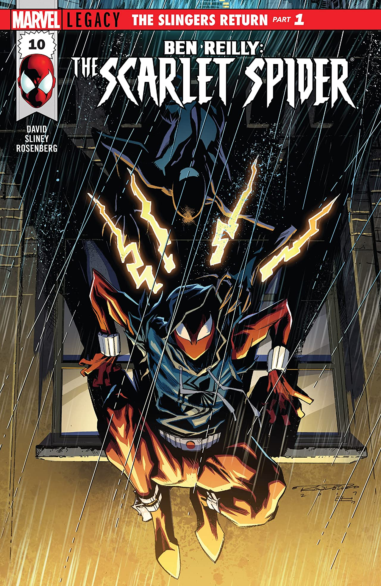 Ben Reilly: Scarlet Spider (2017-2018) #10