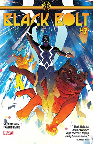 Black Bolt (2017-2018) #7