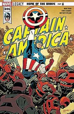 Captain America (2017-2018) #695
