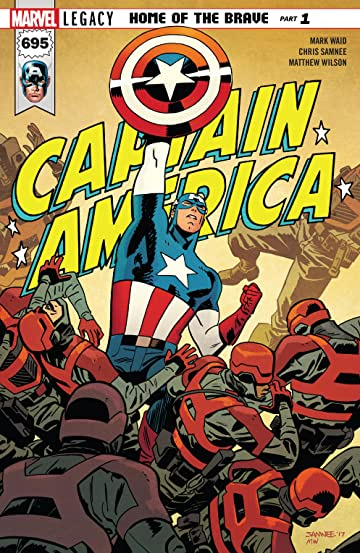 Captain America (2017-) No.695