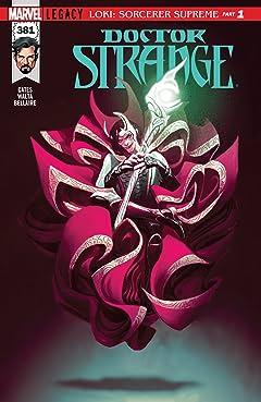Doctor Strange (2015-2018) #381
