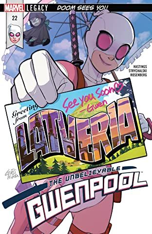 Gwenpool, The Unbelievable (2016-) #22