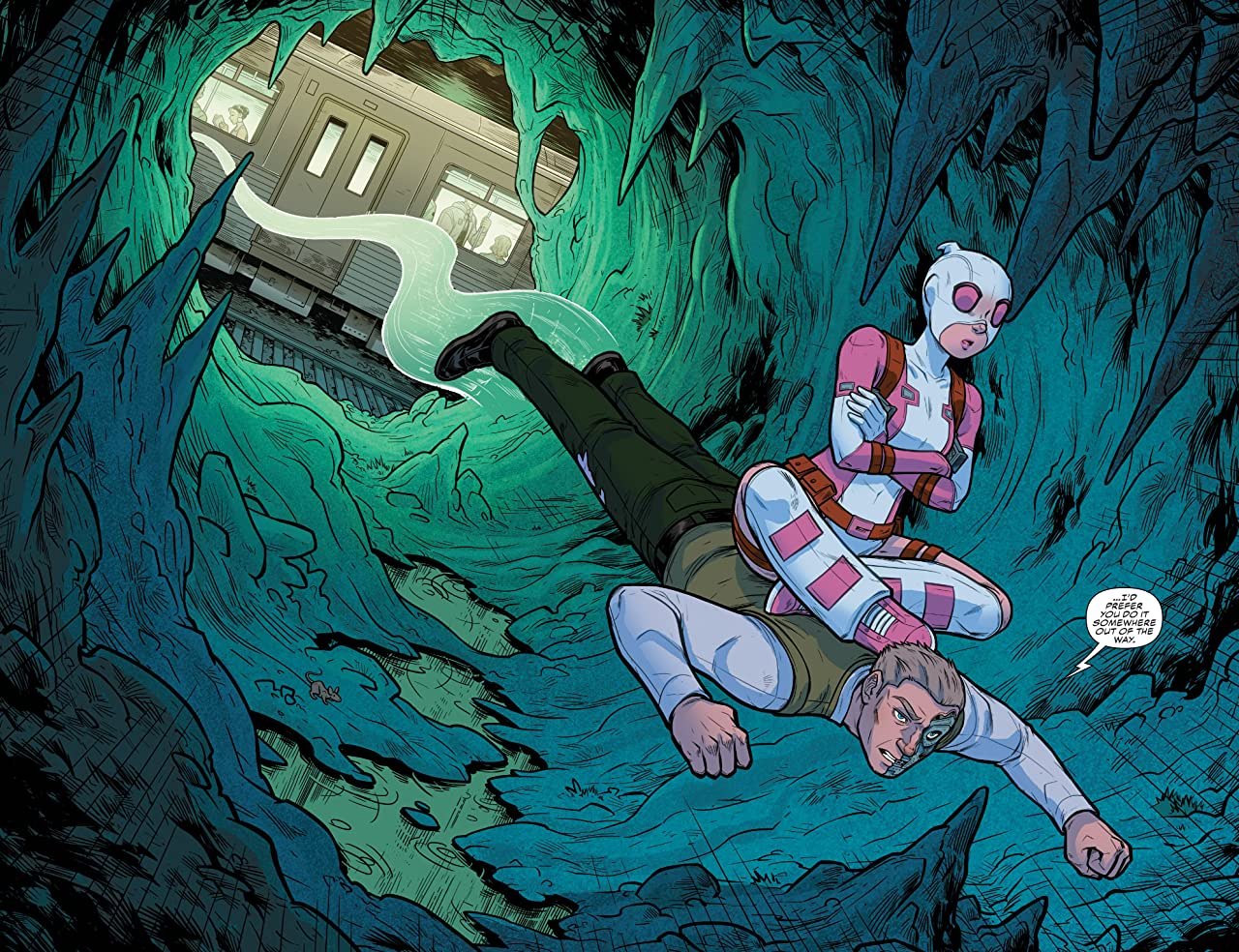 Gwenpool, The Unbelievable (2016-2018) #22