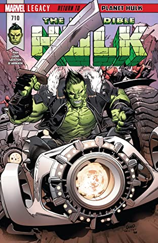 Incredible Hulk (2017-) #710