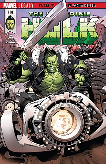 Incredible Hulk (2017-) No.710