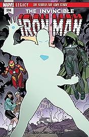 Invincible Iron Man (2016-2018) #594