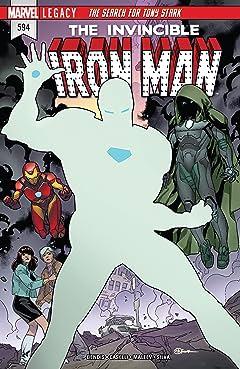 Invincible Iron Man (2016-) #594