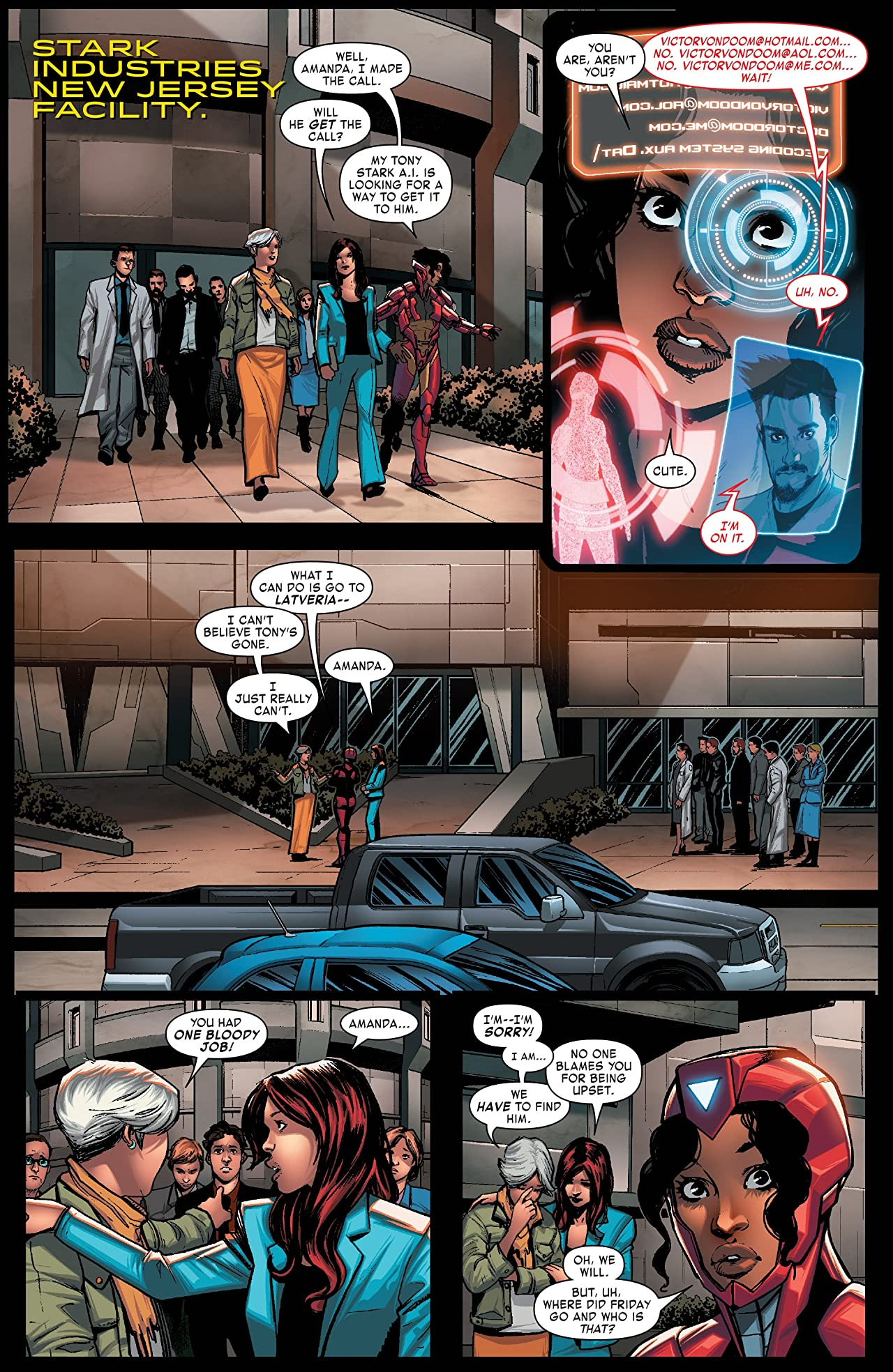 Invincible Iron Man (2016-) #594