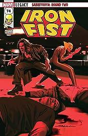 Iron Fist (2017-) #74