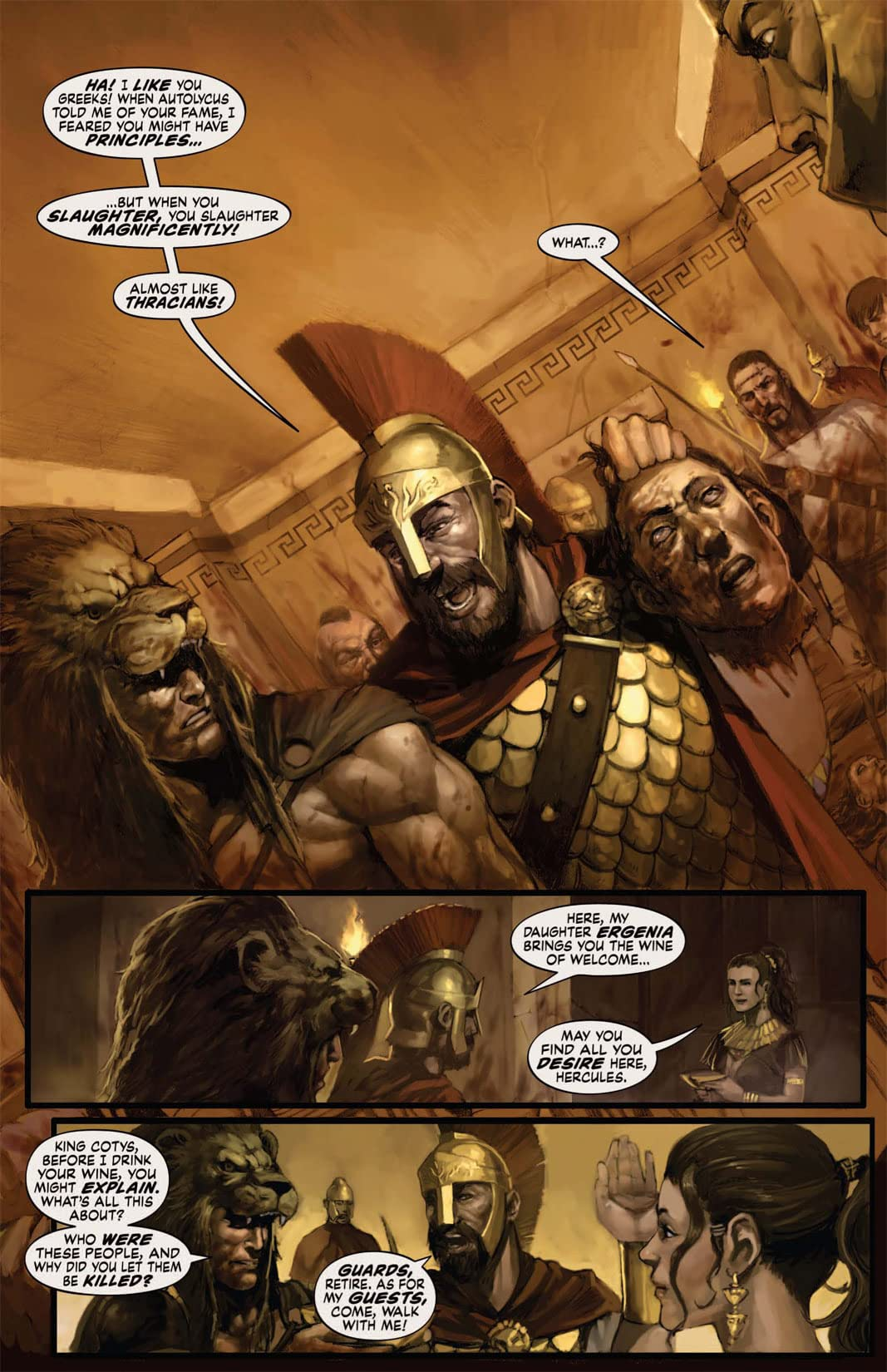 Hercules: The Thracian Wars #2 (of 5)