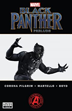 Marvel's Black Panther Prelude (2017) No.2 (sur 2)