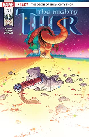 The Mighty Thor (2015-) No.701