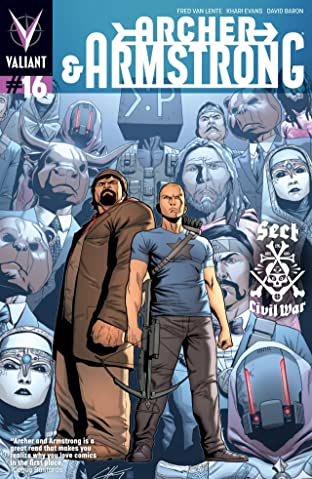 Archer & Armstrong (2012- ) #16: Digital Exclusives Edition