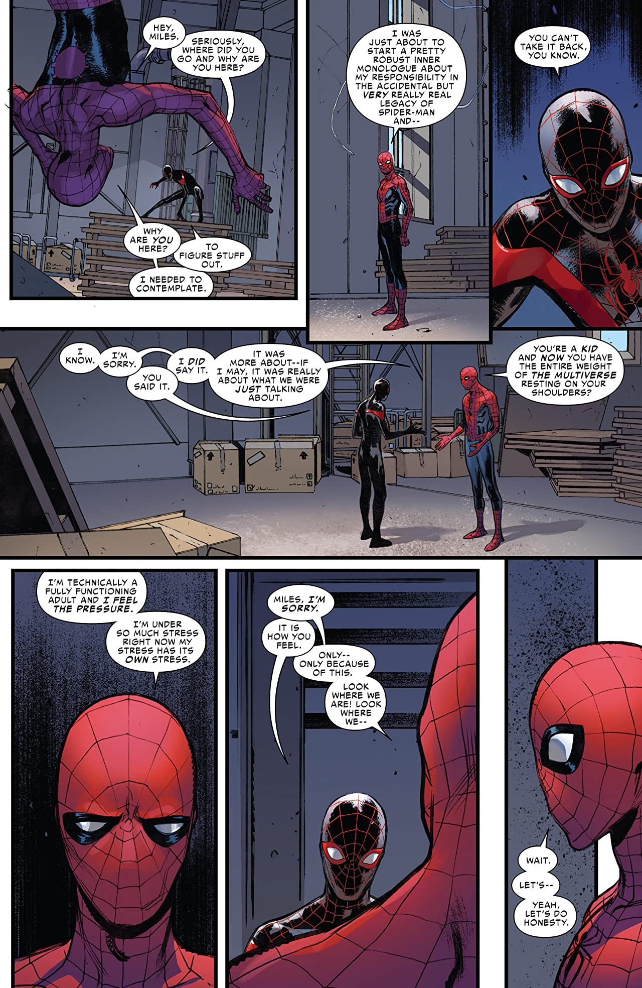 Spider-Men II (2017) #5 (of 5)
