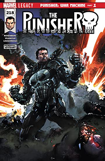 The Punisher (2016-) No.218