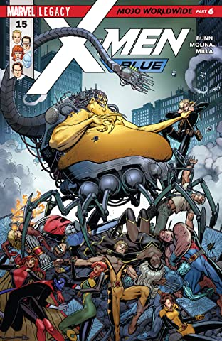 X-Men Blue (2017-) No.15