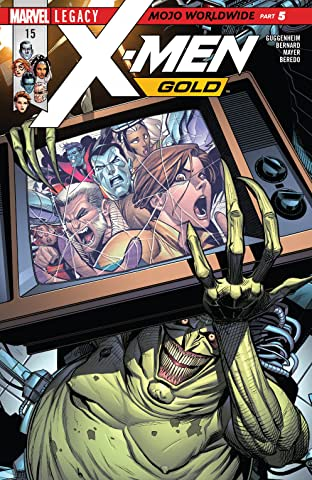 X-Men Gold (2017-) No.15