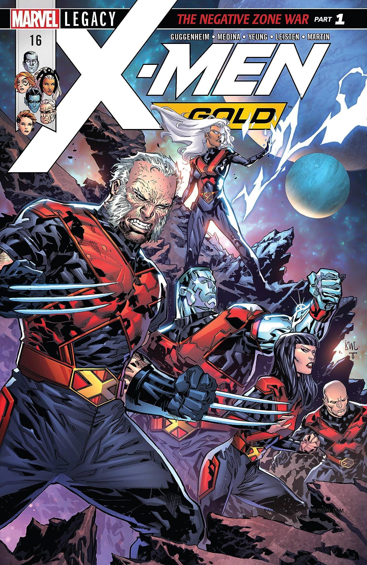 X-Men: Gold (2017-) #16