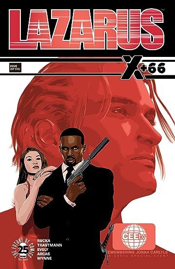Lazarus: X+66 No.5 (sur 6)