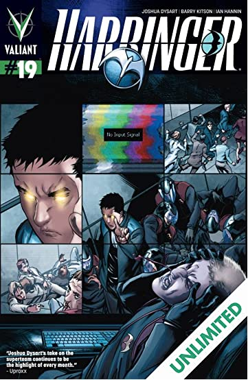 Harbinger (2012- ) #19: Digital Exclusives Edition