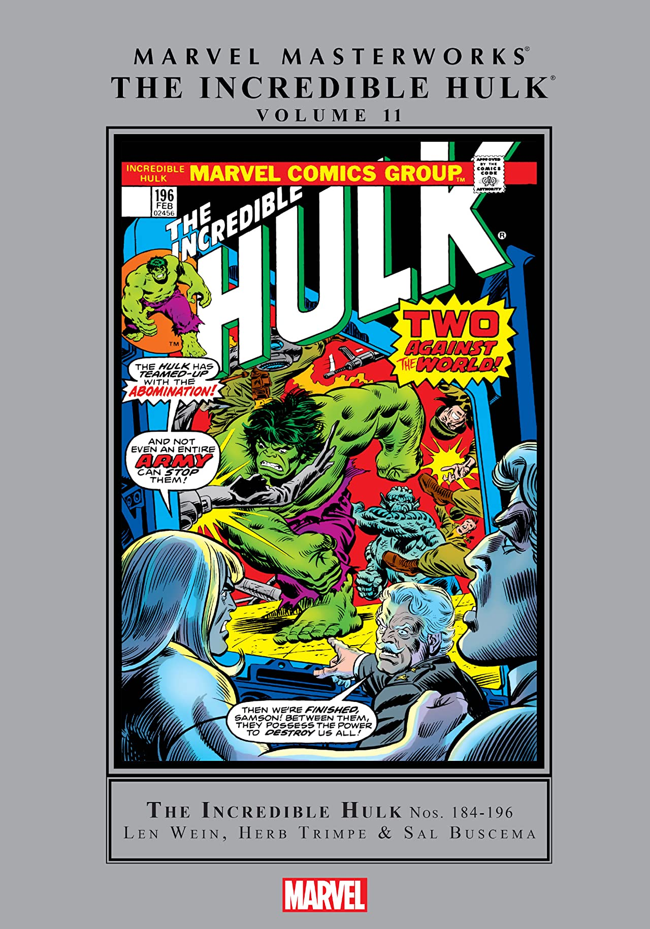Incredible Hulk Masterworks Vol. 11