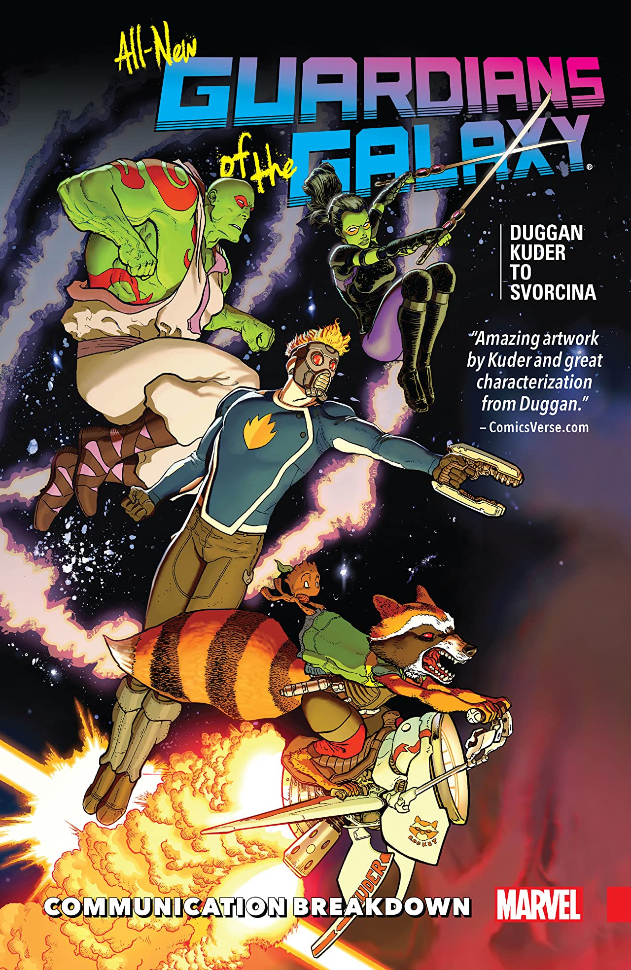 All-New Guardians Of The Galaxy Vol. 1: Communication Breakdown