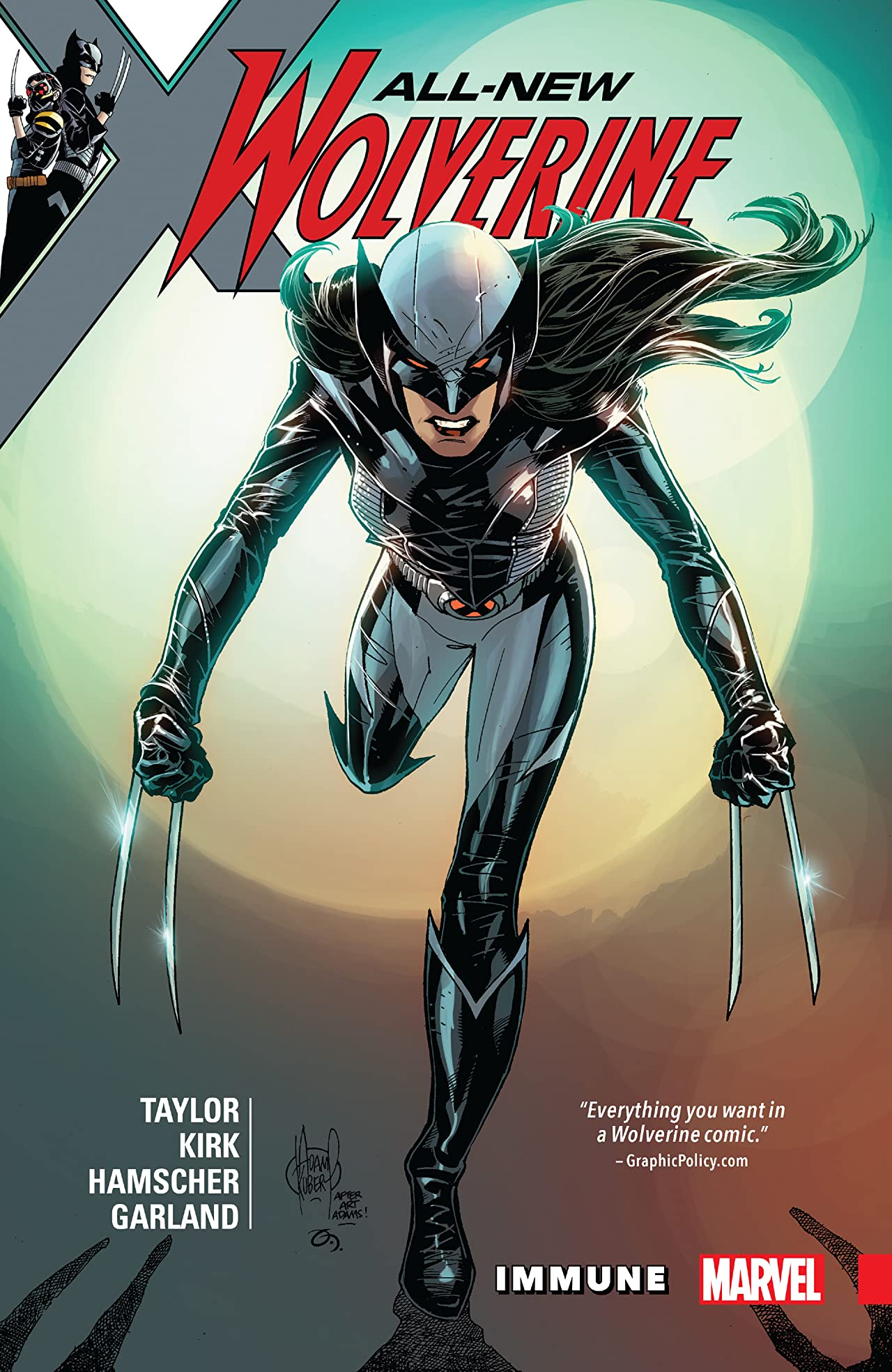 All-New Wolverine Vol. 4: Immune