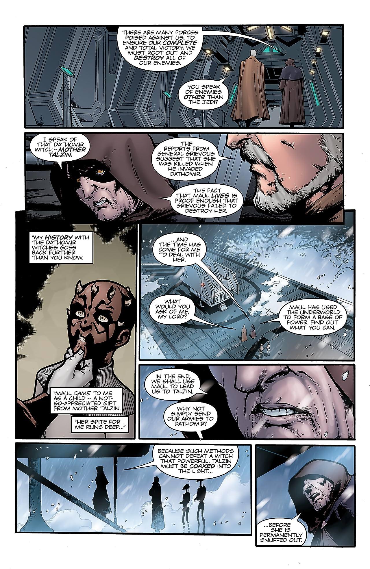 Star Wars: Darth Maul - Son of Dathomir