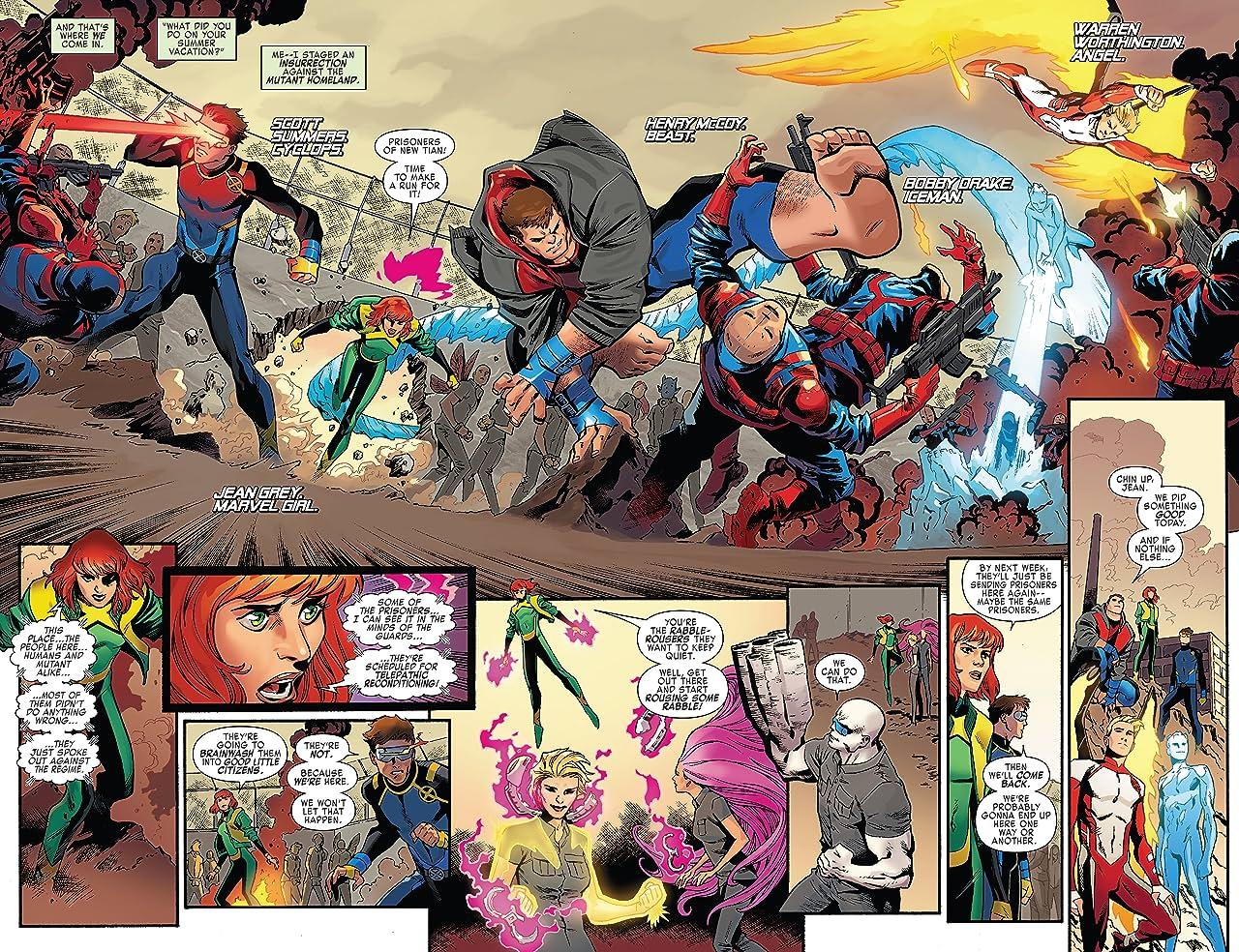 X-Men Blue Vol. 2: Toil and Trouble