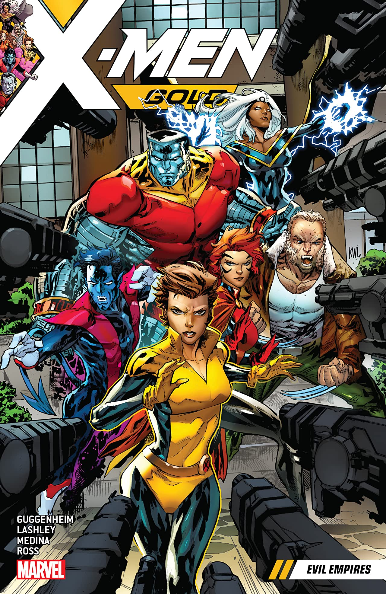 X-Men Gold Vol. 2: Evil Empires