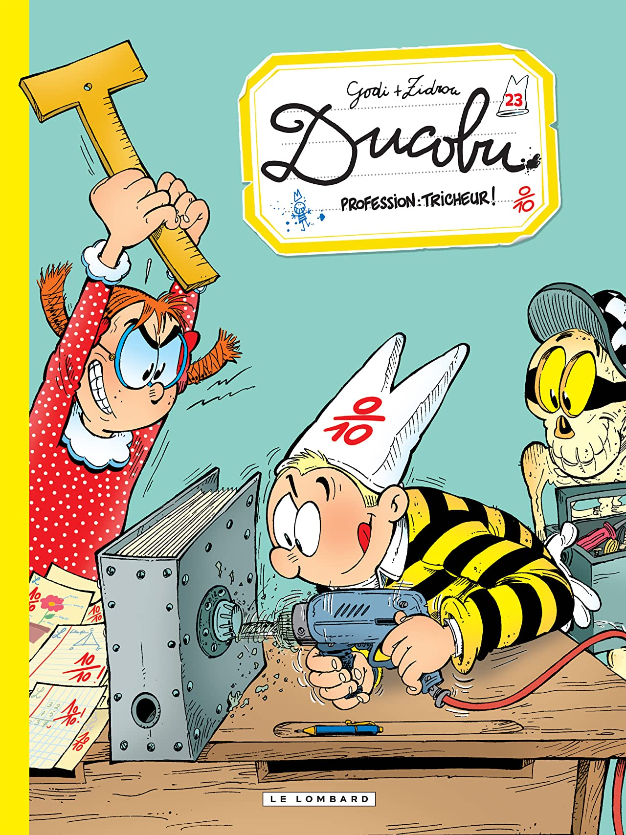 L'Elève Ducobu Vol. 23: Profession: tricheur !